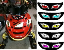 POLARIS edge rmk switchback xc pro x sled snowmobile HEADLIGHT  DECAL STICKER 1