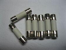 60 Pcs ceramic Fuse T4A 4A 250V 5mm x 20mm Slow Blow