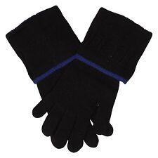Roberto Cavalli Long Black Mix Gloves ��% authentic