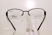 CHRISTIAN DIOR CD3759 P2P CLASSIC LADIES GLASSES FRAME GLOSSY BURGUNDY HALF RIM