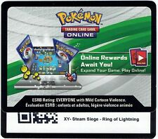 Pokemon Online XY Ring of Lightning Theme Deck Code Shipped in less than 24 hour