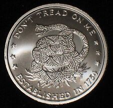 1 oz Silver Round - .999 silver * Don't Tread on Me / Price of Freedom * (S-351)