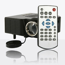 Home Cinema Theater Portable Mini LED LCD Projector 1080P HD HDMI AV USB VGA SD