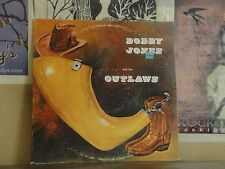 BOBBY JONES AND THE OUTLAWS - AMERICAN HERITAGE LP AH-401-527