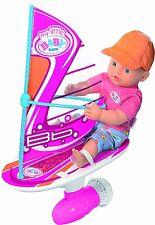My little Baby Born Water fun Wind Surfing