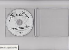 METALLICA  -  TURN THE PAGE   2 TR RARE EU  PROMO