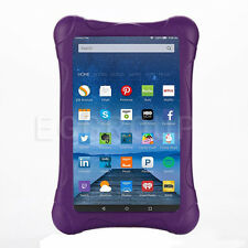 """Kids Safe Rugged Shock Proof Case Cover For Amazon Kindle Fire 7 7"""" 5th Purple"""