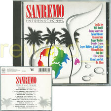 SANREMO INTERNATIONAL RARO CD 1991 - FUORI CATALOGO