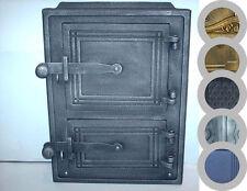 old cast iron fire door / bread oven door / stove smoke / COLORS / 260 x 350mm