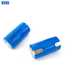 4 x SubC Sub C Size SC 4800mAh NiMH 1.2V Rechargeable Battery Cell with tab Blue