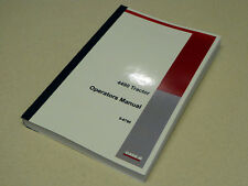 Case 4490 Tractor Operators Manual Owners Maintenance Book NEW