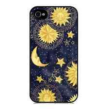 Stile vintage Luna e le stelle STAMPA Custodia per iPhone 5 / 5S HARD BACK CASE