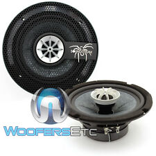 "SOUNDSTREAM SST.652 6.5"" 260W 2-WAY 1"" PUFFED SILK DOME TWEETERS SPEAKERS NEW"
