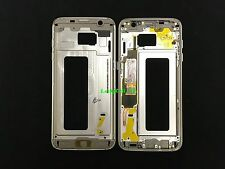Gold Middle Frame Housing Bezel Mid Chassis Replacement Samsung Galaxy S7 Edge