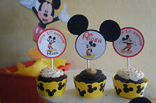 Mickey Mouse (Yellow) Cupcake Wrappers