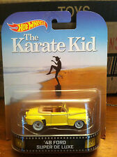 Hotwheels  RETRO ENTERTAINMENT The Karate Kid  48' Ford Super Deluxe