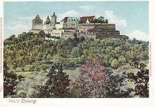 Veste Coburg, um 1900 col. AK ungelaufen Verl d. Albrecht'schen Hofbuchhandlung