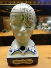 "Medical 13"" Porcelain Phrenology Head"