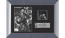 Elvis Presley in 1957 movie Loving You  Genuine 35mm Film Cell Framed & Matted