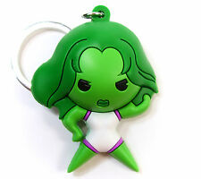Marvel Collectors Figural Keyring Series 7 SHE-HULK KEYCHAIN Opened Blind Bag