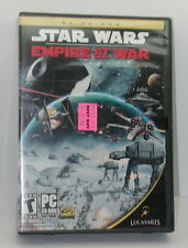 Star Wars Empire At War PC CD Rom Game Complete