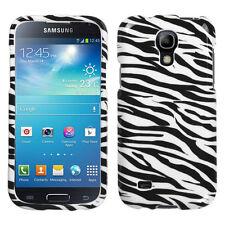 For Samsung Galaxy S4 MINI HARD Protector Case Snap Phone Cover Zebra Accessory