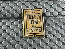pins pin LES TICKETS D'OR DU CINEMA  ARTHUS BERTRAND