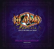 DEF LEPPARD - VIVA HYSTERIA - 2CD+DVD NEW SEALED 2013 - SPECIAL DELUXE EDITION