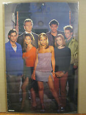 Vintage 1999 Buffy the Vampire Slayer original tv show poster 9619
