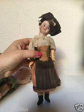 Miniature Mignonette Simon Halbig bisque head Baby Doll size 17 cm