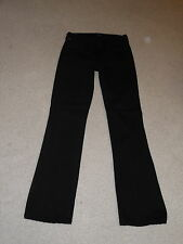 CITIZENS FOR HUMANITY BLACK AMBER MEDIUM RISE BOOTCUT STRETCH JEANS SIZE 26