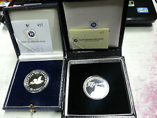 Malaysia Sea Games 2001 & Muzium same  Single Silver Proof Coin same low no.027