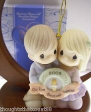 Precious Moments Ornament COUPLE 1st 2008 810004 NIB *FREE USA SHIPPING