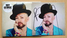 This Is What I Do, Boy George CD Album( HAND SIGNED art Print  )
