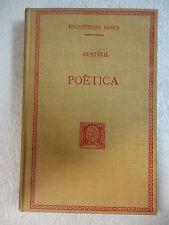 Escriptors Grecs,Poetica,Aristotil,F.Bernat Metge 1926
