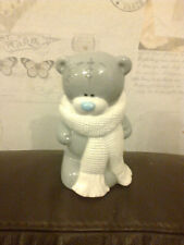 TATTY TEDDY ME TO YOU BEAR WINTER SCARF MONEY BOX  6 INCH UNBOXED RARE