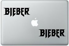 Justin Bieber Logo Sticker Two Sets(2x) Decal Stickers Laptop Car Truck