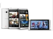HTC-One-M7 Silver-LTE-4G-GPS-WIFI-Android-32GB-Unlocked-Smartphone-Free-shipping