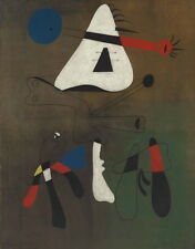 Joan Miro Peinture Giclee Canvas Print Paintings Poster Reproduction Copy