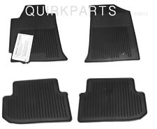 2008-2012 Nissan Altima Coupe | All Season Rubber Floor Mats Set of 4 GENUINE OE