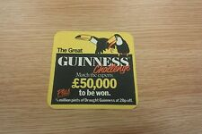 The Great Guinness Challenge Beermat