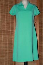 Vtg 70s Mint Mod Scooter Bleeker Street A-Line Dress