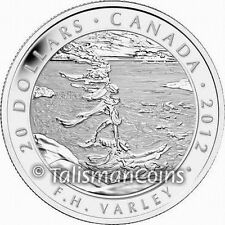 Canada 2012 Group Seven Artists #1 Stormy Weather Varley $20 Pure Silver Proof