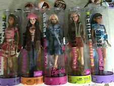 Barbie Fashion Fever Lot 5 Kayla Teresa CIB NEW Sealed Matel Doll Rare