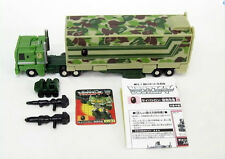 Smallest WST G1 BAPE X transformers Optimus Prime Convoy W/ BOX PERFECT