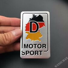 Germany Map Sport Emblem Car Badge Decal Sticker For BMW Audi VW Mercedes-Benz
