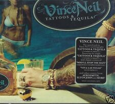 CD ♫ Compact disc **VINCE NEIL • TATTOOS & TEQUILA** nuovo sigillato Digipack