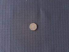 Dark Grey Cotton Rich Ripstop  Waterproof Repellent Fabric