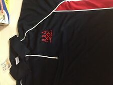 USA Olympic Volleyball Collared Dryfit Polo MEDIUM