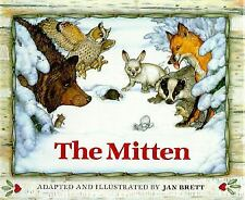 The Mitten by Jan Brett (1989, Hardcover)